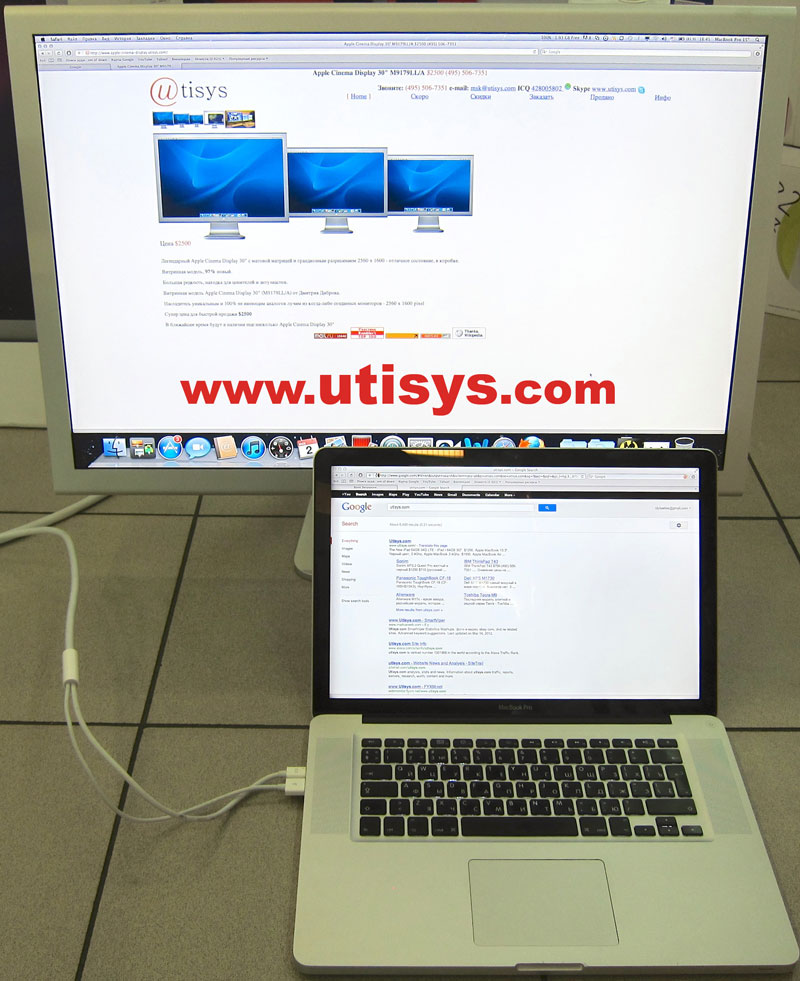 "Apple Cinema Display 30"" M9179LL/A"